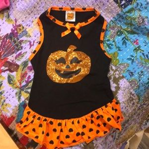Halloween dog dress